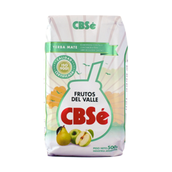 Yerba Mate CBSE FRUTOS DEL VALLE OWOCE DOLINY 500G